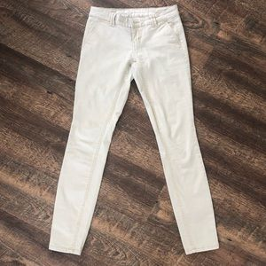 Mossimo Mid-Rise Skinny Khakis